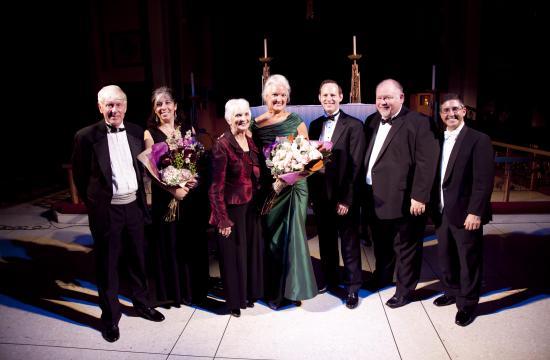 Benefit concert artists of the evening - Pianist Greg Schreiner