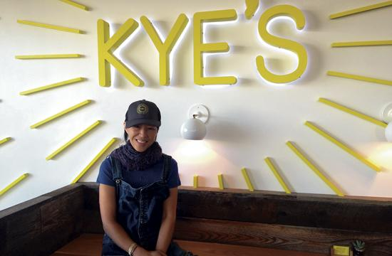 Kye's owner Jeanne Cheng is excited to open her 1