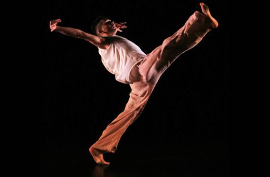 Alex Perez performs with SMC's Synapse Dance Theater Contemporary Dance Ensemble.