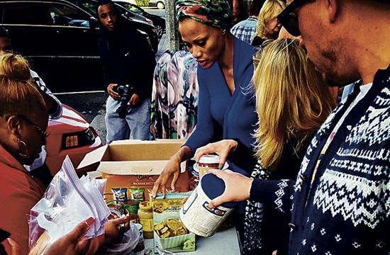 Volunteers with Gobble Gobble Give will prepare meals for Santa Monica's homeless on Thanksgiving.