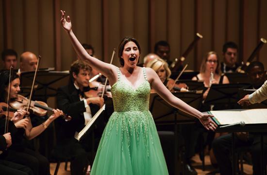 Teen opera soprano Golda Berkman will perform with the Dream Orchestra in Santa Monica on Dec. 5.