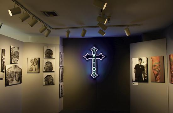 A selection of the art works on display at the California Heritage Museum in Santa Monica through March 29