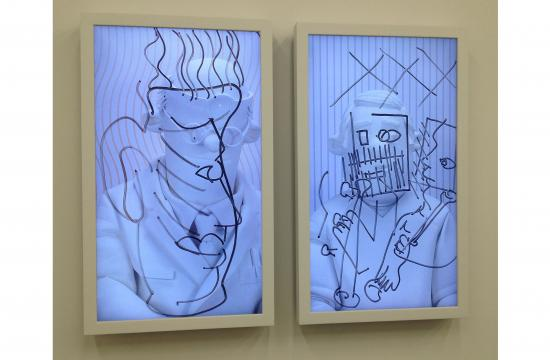 Brian Bress art works are on display through Jan. 3