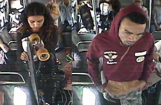 Surveillance footage released of two suspects released by the Culver City Police Department on Thursday morning.