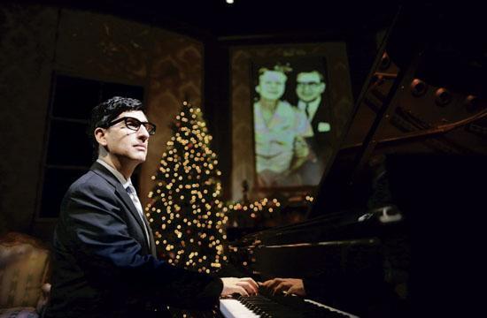 Hershey Felder plays Irving Berlin in his latest one-man show on stage at the Geffen Playhouse.