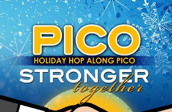 The Holiday Hop Along Pico will be held Saturday