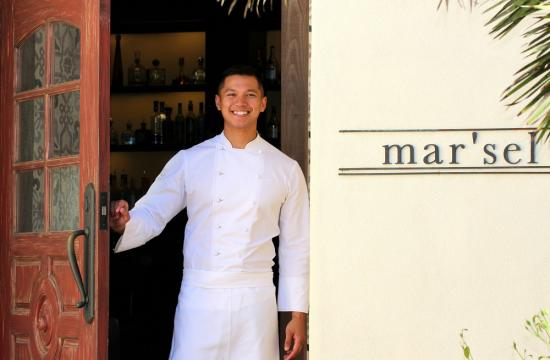 Mar'sel chef du cuisine Charles Olalia will dish up special holiday menus this Christmas and New Year's Eve.