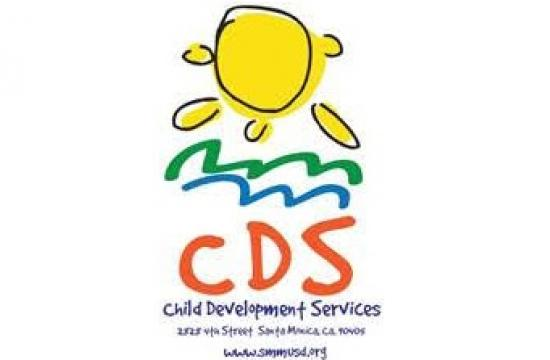 The new logo for the Santa Monica-Malibu Unified School District's Child Development Services (CDS) Department.