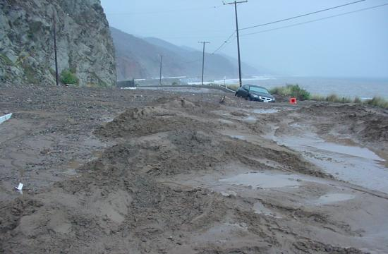 The highway is expected to remain closed for three to four weeks.