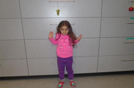 Do you know this 3-year-old girl? She was abandoned at The Grove shopping center on Saturday evening.