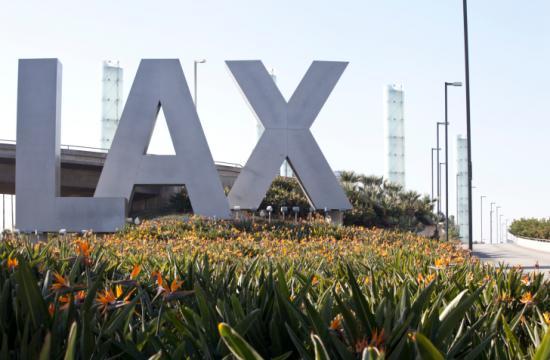 Los Angeles International Airport.