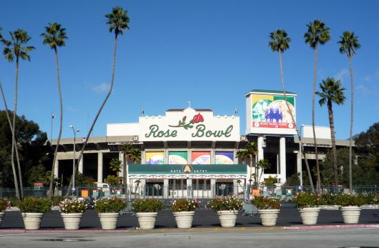 The Rose Bowl.