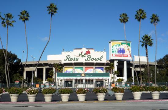 The Rose Bowl.