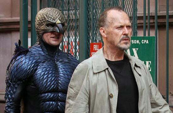 "Michael Keaton in ""Birdman""."