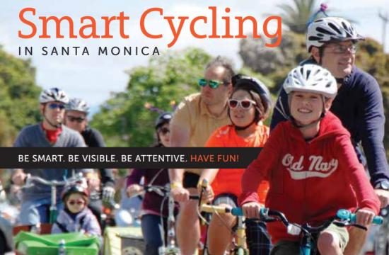 A comprehensive and illustrated guide to 'Smart Cycling in Santa Monica' can be downloaded for free.