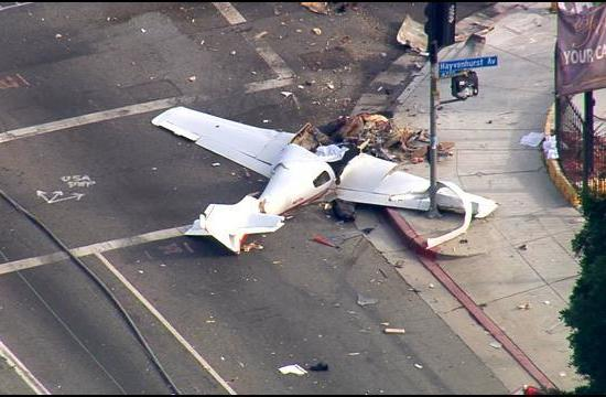 Authorities have identified the pilot killed Friday in a Van Nuys plane crash.