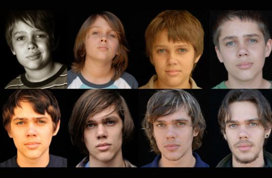 'Boyhood' follows the joys and pitfalls of growing up are seen through the eyes of a child named Mason (pictured-Ellar Coltrane)