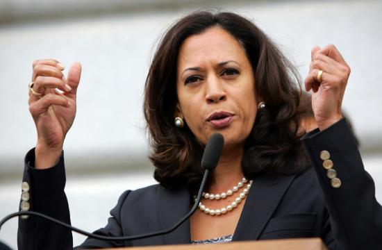 Attorney General Kamala Harris announced today she is running for the U.S. Senate seat being vacated by Barbara Boxer.