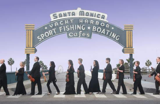 Orchestra Santa Monica celebrates its move to the Moss Theatre at New Roads School this weekend.