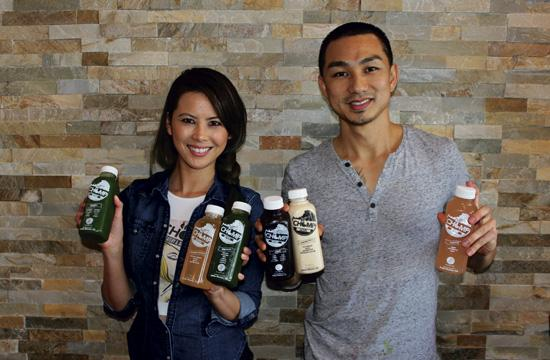 Chomp Eatery and Juice Station co-owners Rolan Pongpuntara and Sean Tao specialize in customized juice cleanses.