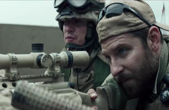 Bradley Cooper stars in 'American Sniper.'