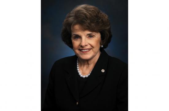 U.S. Senator Dianne Feinstein.