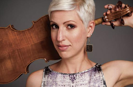 New West Symphony principal violist Lauren Chipman will make her solo debut with world premiere of symphony commissioned work by noted pianist/composer Mike Garson.