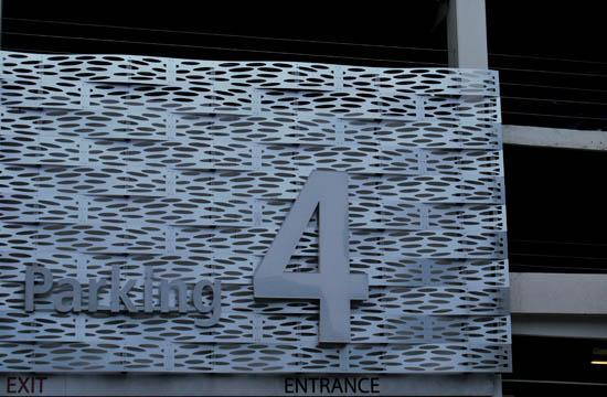 Parking Structure 4 is located near Second Street and Arizona in Santa Monica.