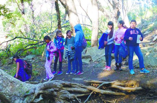 Stone Avenue School fifth grade students attended a week at Malibu Outdoor Science School