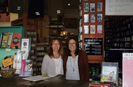 Cathy Tauber and Patty Polinger said Monday they were sad to close Vidiots after almost 30 years