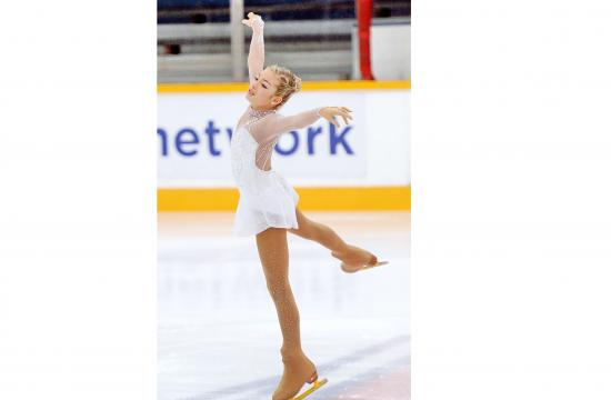 Gia Kokotakis won the Bronze Medal at 2015 U.S. Figure Skating Championships.