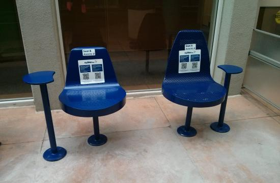 Big Blue Bus is soliciting public input on two proposed redesigned bus stop seats.