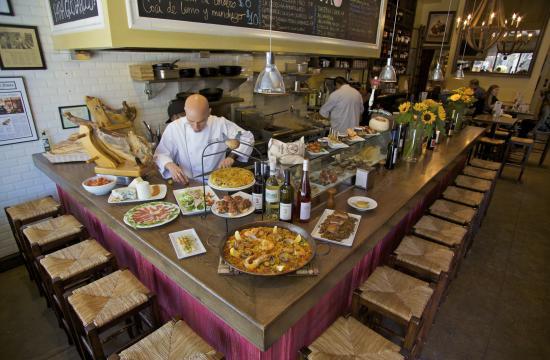 Bar Pintxo is an authentic Spanish tapas bar one block from Santa Monica beach.