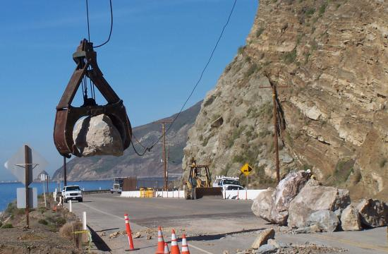 The California Department of Transportation (Caltrans) has opened nearly six miles of the nine mile closure on Pacific Coast Highway between Las Posas Road and Yerba Buena Road after clearing debris.