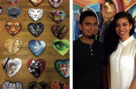 Ricky and Alyssa are two of the five PYFC youth participating in the Arts for Hearts fundraiser on Saturday.