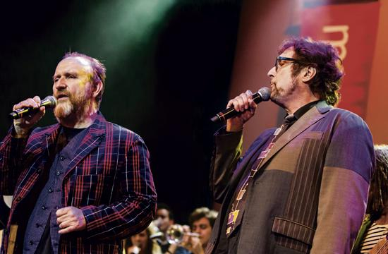 Colin Hay and Stephen Bishop wowed the audience at Saturday's SMMEF For The Arts benefit concert.