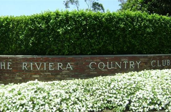 The Northern Trust Open begins today at The Riviera Country Club.