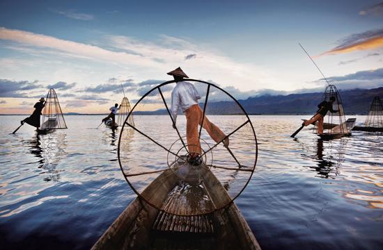 "Adventure travel photographer David Heath will exhibit never-before-seen images from his new book ""BURMA: An Enchanted Spirit"" in Santa Monica starting this Saturday."