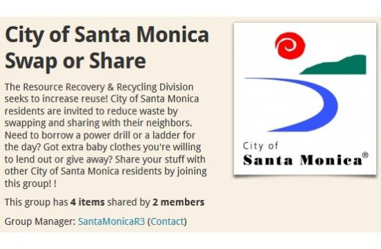 Santa Monica 'my-waste' mobile app puts reuse and recycling collection information on your smartphone.