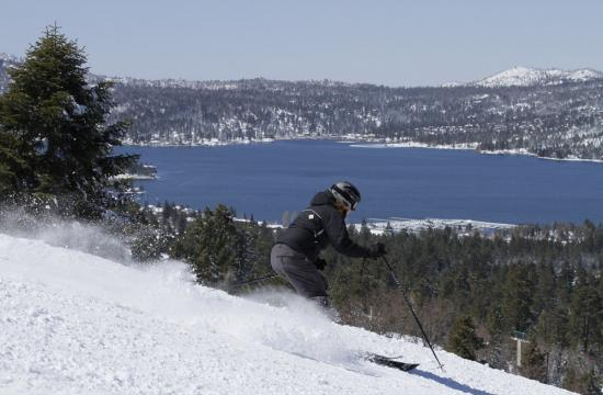 Big Bear Mountain is expected to remain open through mid-April after 16-20 inches of snow coated the mountain this past week.