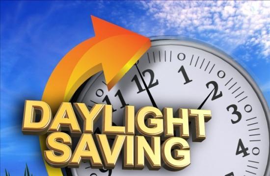 Daylight saving time arrives at 2 a.m. Sunday.