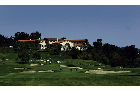 The Riviera Country Club is the venue for the Rotary Club of Santa Monica's weekly meeting on Fridays.