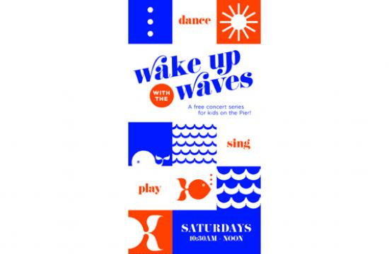 Santa Monica Pier's acclaimed children's concert series 'Wake Up With The Waves' returns Saturday.