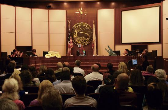 Santa Monica City Council meetings are set to include exotic pets.