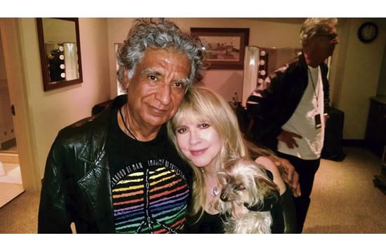 Bob Aguirre with Stevie Nicks