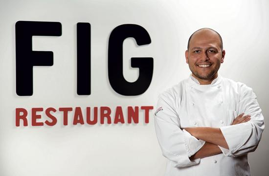 Yousef Ghalaini joined FIG restaurant in September as executive chef after relocating from Pebble Beach.