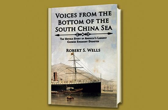 """Voices From The Bottom Of The South China Sea"" is a book many years in the making for Santa Monica native Robert S. Wells."