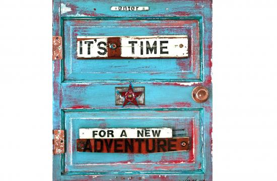 Jennifer Verge's 'It's Time' will be part of the FAB Studio exhibition.