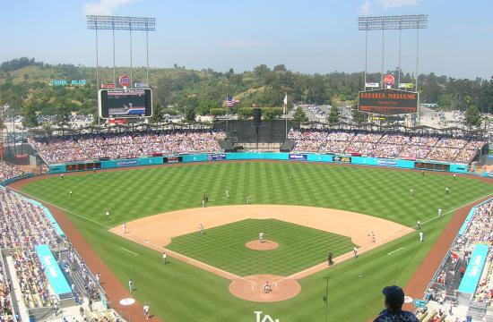 Dodger Stadium.