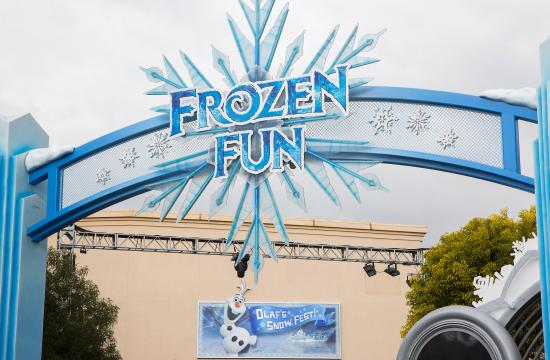 "For the first time in forever – and for a limited time – the live ""Frozen"" experiences will be available in the Hollywood Land area of Disney California Adventure Park."